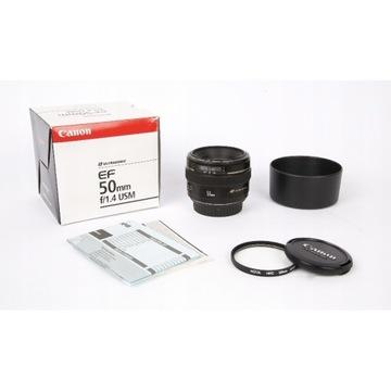 Obiektyw Canon EF 50mm f/1.4
