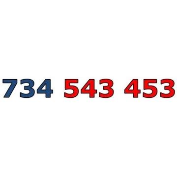 734 543 453 ZŁOTY ŁATWY NUMER STARTER