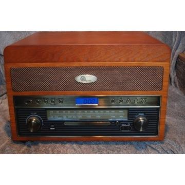 1byone wieża gramofon cd usb fm aux bluetooth