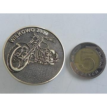 Odznaka Znaczek Blacha ze Zlotu Motocykli ( Wilkow
