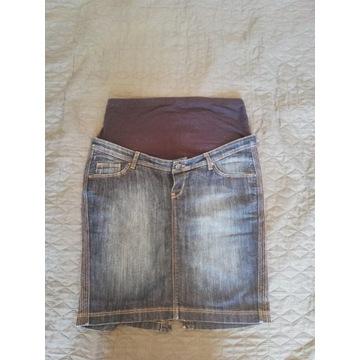 spódnica jeans ciążowa zara
