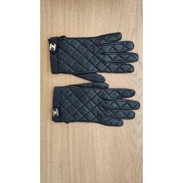 Rękawiczki Chanel