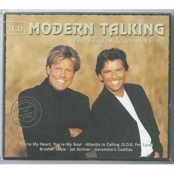 MODERN TALKING - Golden Years 85-87 - 3xCD BOX