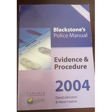 Blacktone's Police Manual Evidence & Procedure 04