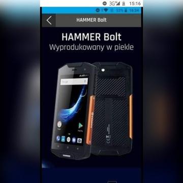 Wzmacniany, pancerny Hammer Bolt