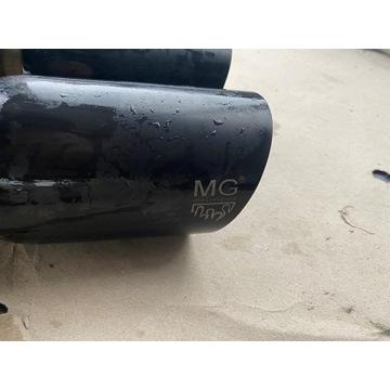 układ wydechowy wydech mg motorsport audi s3 a3 8p