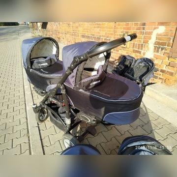 Wózek bliźniaczy / Babyactive twinni 3w1 ZABRZE