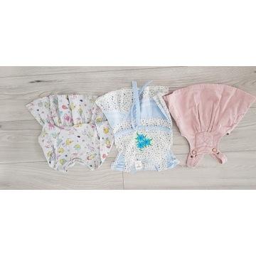 Zestaw ubranka dla dziewczynki wiosna lato 56-68