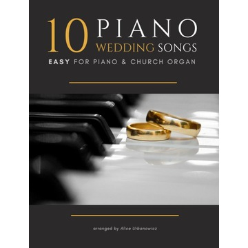 10 Piano Wedding Songs - Nuty na Fortepian - PDF