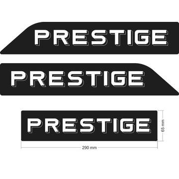 Hobby Prestige - komplet naklejek na przyczepę kem