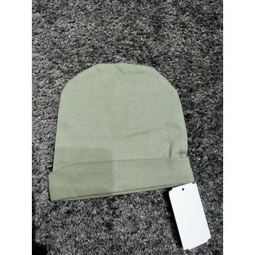 Nowa czapka  oliwkowa r.46-48ccm
