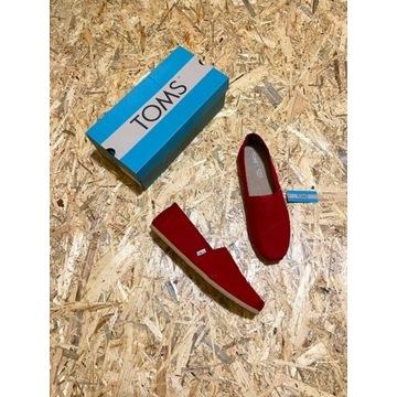 Męskie buty espadryle amerykańskiej marki Toms