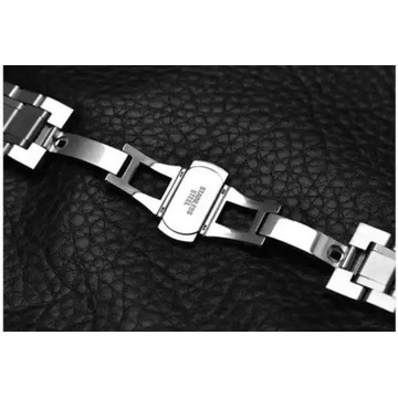 Bransoleta 24mm srebrna