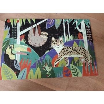 Puzzle świecące Rainforest - Glow in the dark