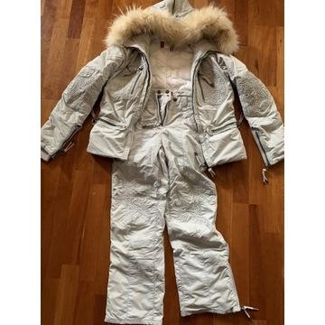 Komplet narciarski dziewczęcy (kurtka i spodnie)