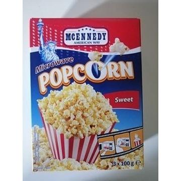Słodki popcorn karmelowy