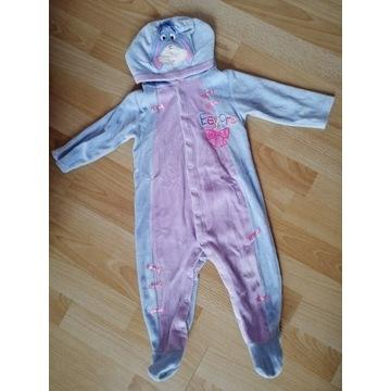 Kłapouchy kostium pajacyk 9 - 12 miesięcy 74 - 80