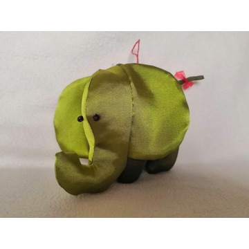 Słoń -  maskotka, ozdoba HAND MADE
