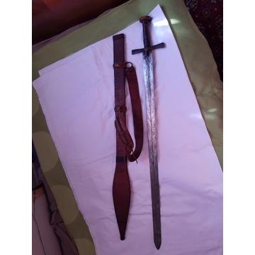 Miecz tuareski Afryka oryginał.