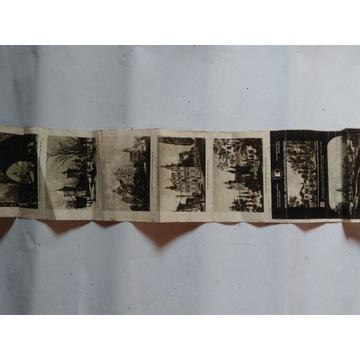 Stare pocztówki z Krakowa składane