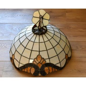 Witrażowa lampa wisząca w stylu Tiffany