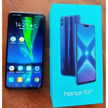 Honor 8X 4/64GB stan jak NOWY!!!