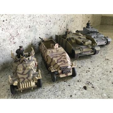 Cztery modele niemieckiej broni pancernej