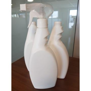 Butelka PE 500 ml z triggerem - komplet