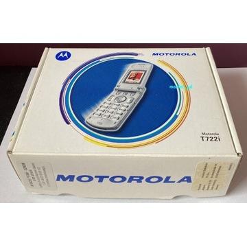Telefon Motorola T722i plus aparat i akcesoria