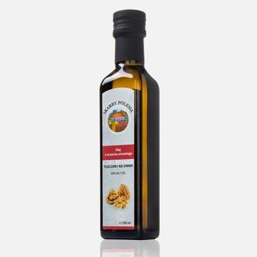 Olej z orzecha włoskiego 250ml tłoczony na zimno