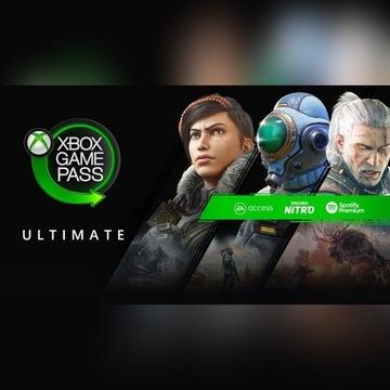 Xbox Game Pass Ultimate+Live Gold  90 DNI+BONUSY.