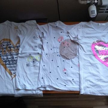 Koszulka 134 zestaw