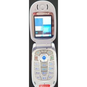 Hit telefon z klapką Motorola V550 unikatowy