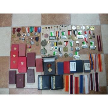 Kolekcja medali i odznaczeń