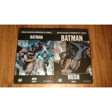 Batman Hush kolekcja komiksów dc