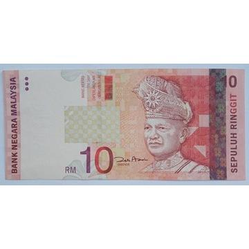 Malezja, 10 ringgit 2004 roku