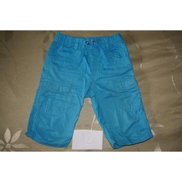 Spodenki spodnie krótkie szorty bermudy C&A 122
