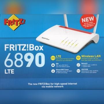 FRITZ! Box 6890 Router Kombajn