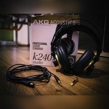 Słuchawki nauszne AKG K240 STUDIO