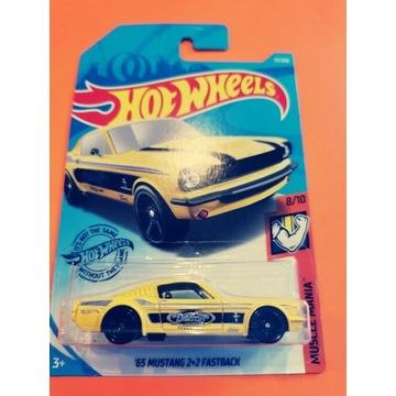 Hot Wheels 65 Mustang 2+2 Fastback