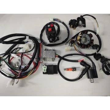 Instalacja elektryczna wiązka ATV quad 125, 250 8