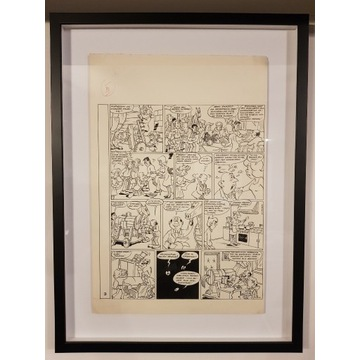 Oryginalna plansza komiksowa - Szarlota Pawel