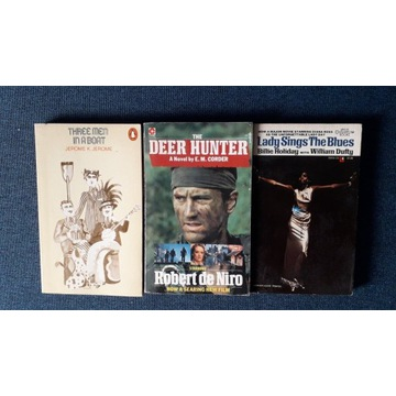 The deer hunter, Lady sings the blues, Three men..