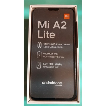 Mi A2 Lite BLACK 4GB RAM 64GB ROM ANDROID ONE