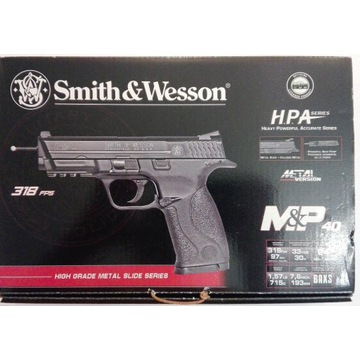 Pistolet ASG Smith & Wesson