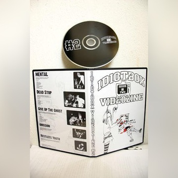 IDIOTBOX VIDEOZINE #2  dvd nowa  S