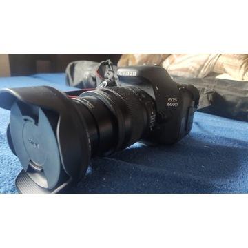 Canon 600d Mega zestaw 4 obiektywy statyw i inne