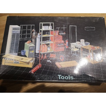 Fujimi 1/25 zestaw TOOLS wyposażenie warsztatu