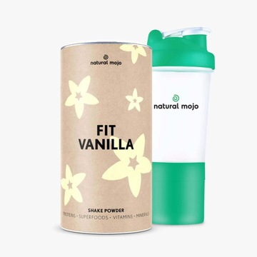 Natural Mojo Promocja!Fit Vanilla plus szejker