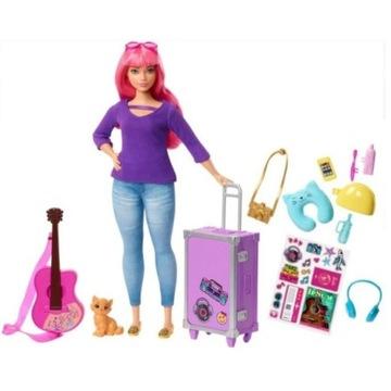 Barbie, Dreamhouse, lalka Daisy w podróży, FWV26